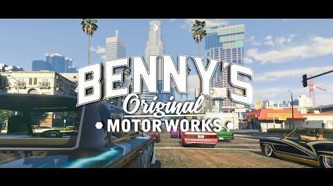 GTA Online- Lowriders - Benny's Original Motor Works