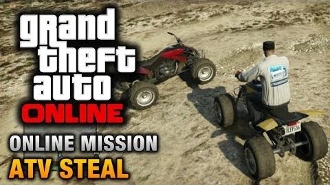 GTA Online - Mission - ATV Steal Hard Difficulty