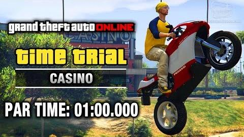 GTA Online - Time Trial 15 - Casino (Under Par Time)