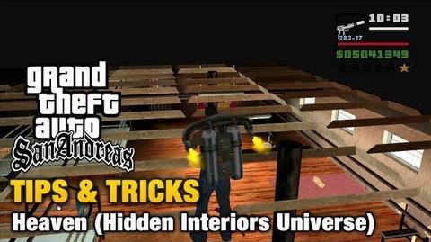 Hidden Interiors Universe