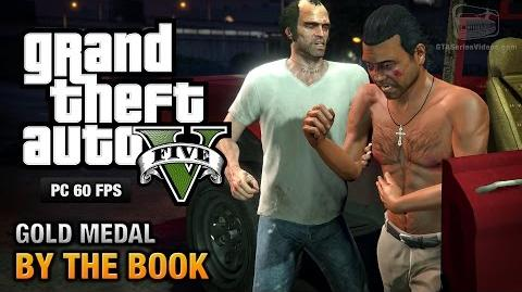 GTA 5 PC - Mission 25 - By the Book Gold Medal Guide - 1080p 60fps
