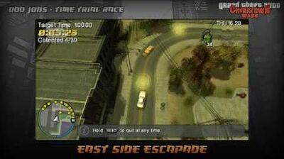 GTA Chinatown Wars - Walkthrough - Time Trial Race - East Side Escapade