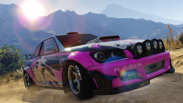 The Sultan RS With PRB Themed Livery In GTA Online In An Official  Screenshot.