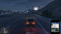 Vehicle Import Amateur GTAO Start Senora Freeway