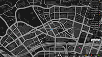 Vehicle Import Mobile GTAO Downtown Rockford Hills Map