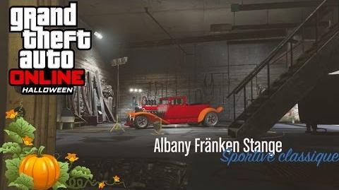 -Exclu- Customisation de la Albany Fränken Stange