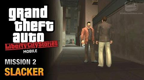 GTA Liberty City Stories Mobile - Mission 2 - Slacker