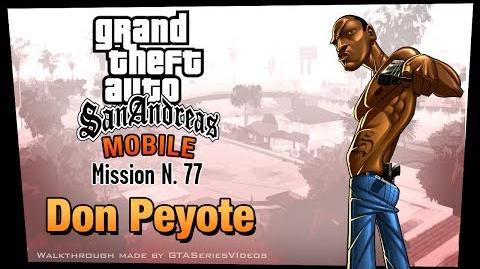 GTA San Andreas - iPad Walkthrough - Mission 77 - Don Peyote (HD)