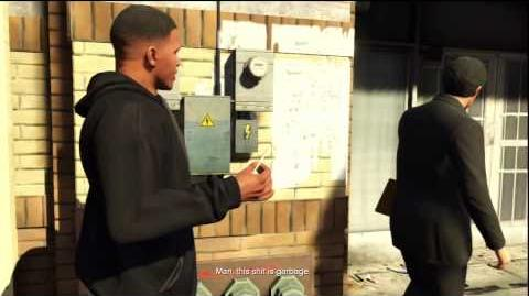 Grand Theft Auto 5 (PS3) walkthrough - Grass Roots - Franklin