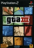Gta3 gta III gtaIII lyberty city PS2 pochette
