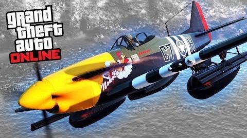 GTA Online - P-45 Nokota -Smuggler's Run Update-