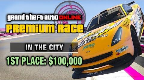 GTA Online - Premium Race 29 - In The City (Cunning Stunts)