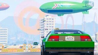 GTA Online Premium Race - Stadium Flyover