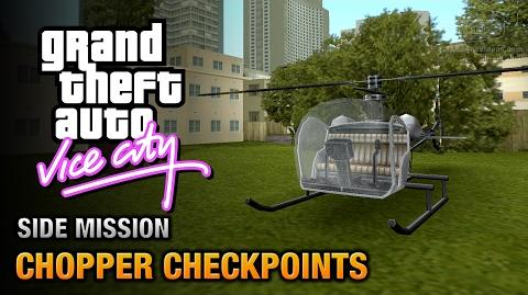 GTA Vice City - Chopper Checkpoints