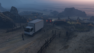 Coasting-GTAO-Professionals guarding the truck