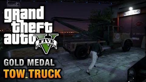 GTA 5 - Mission 38 - Tow Truck 100% Gold Medal Walkthrough