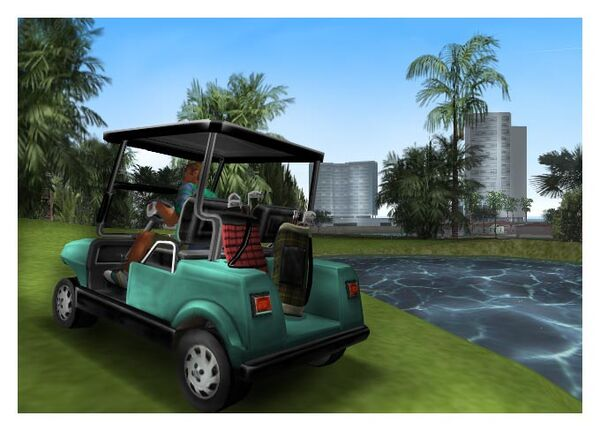 KentPauls80sNostalgiaZone-GTAVC-golfcart