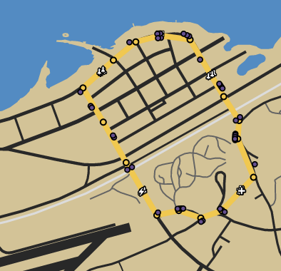 Turn To Dust GTAOe Race Map