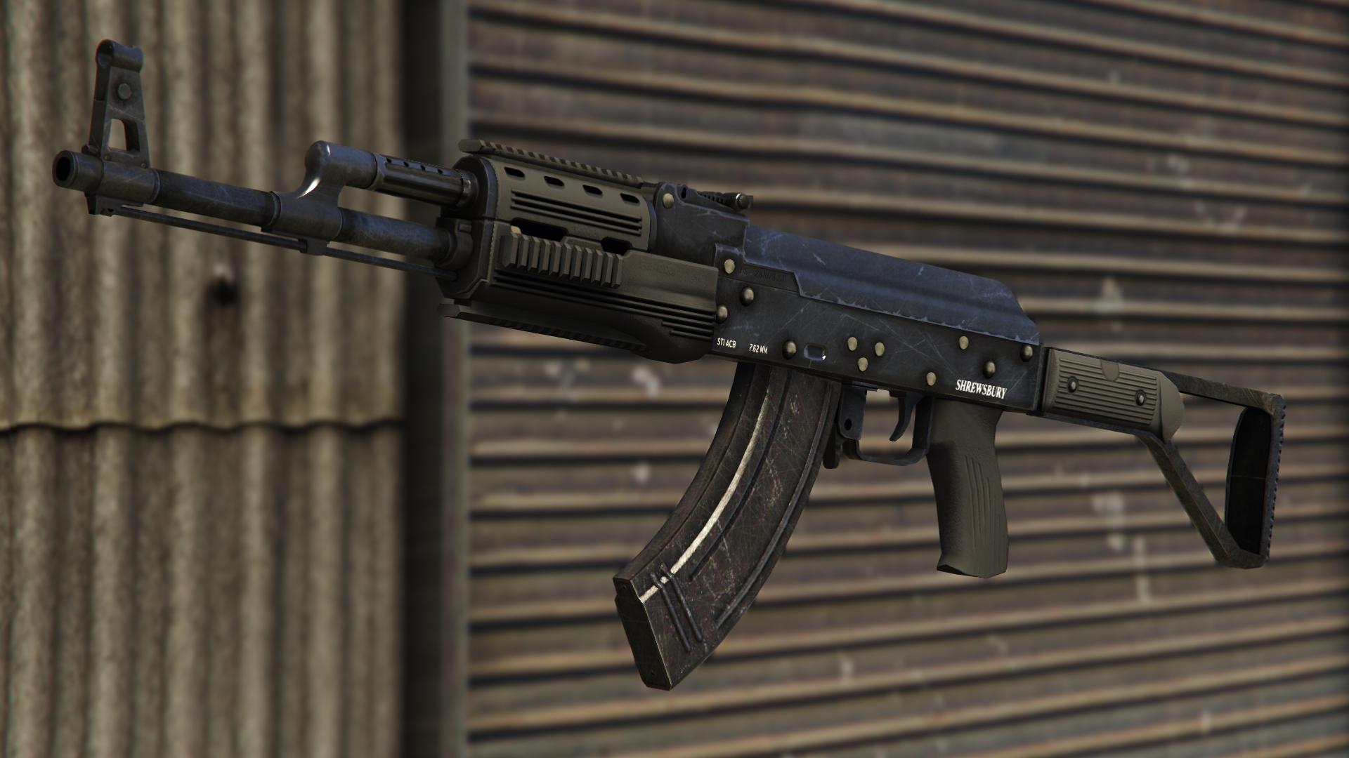 File:AssaultRifle-GTAV.png
