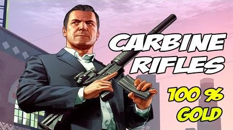 Carbine Rifles - GTA 5 100% Gold