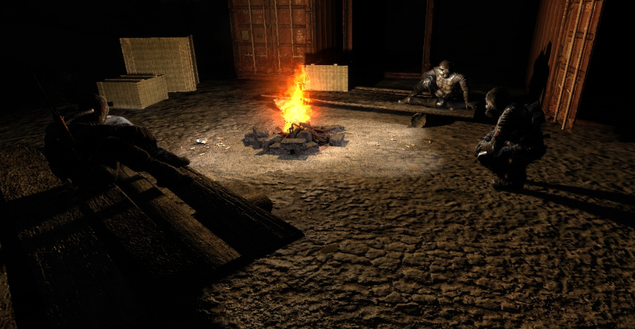 Duty campfire