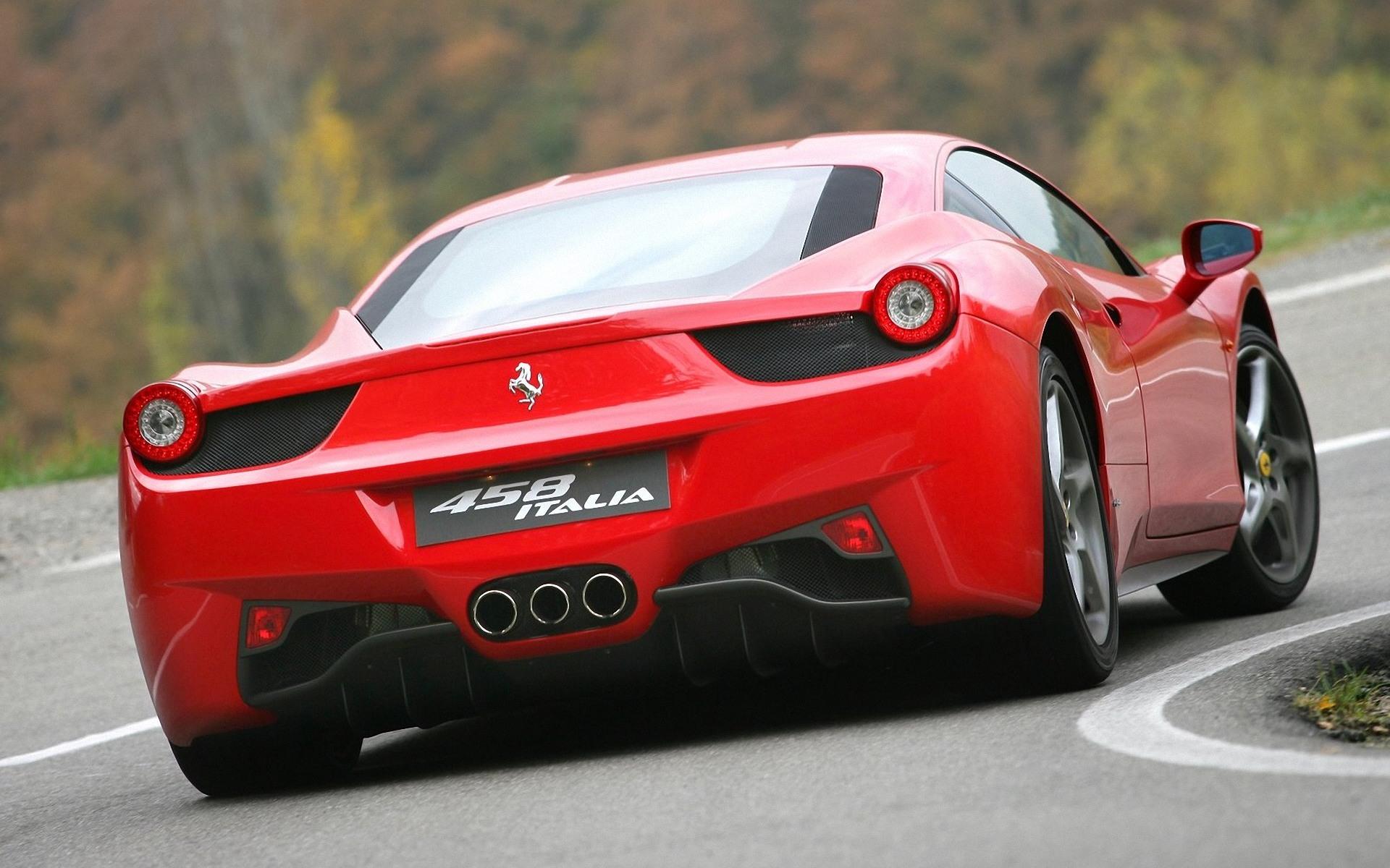 Ferrari 458 HD Wallpaper Background