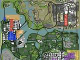 Gangs in GTA San Andreas