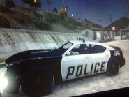 Police Buffalo Side View GTA V