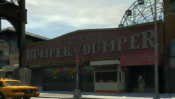Funland-GTAIV-Bumper&DumperDodgems MainStreetEntry