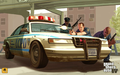 GTA LCPD Artwork