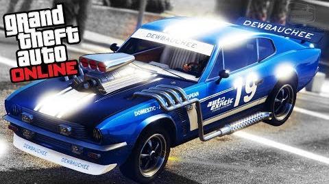 GTA Online - Dewbauchee Rapid GT Classic -Smuggler's Run Update-
