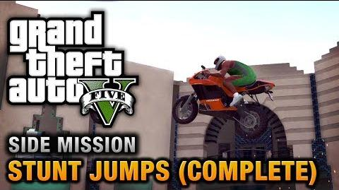 GTA 5 - Stunt Jumps Show Off Achievement Trophy