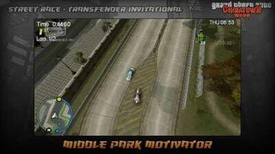 GTA Chinatown Wars - Walkthrough - Street Race - Transfender Invitational - Middle Park Motivator