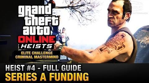 GTA Online Heist 4 - Series A Funding (Elite Challenge & Criminal Mastermind)