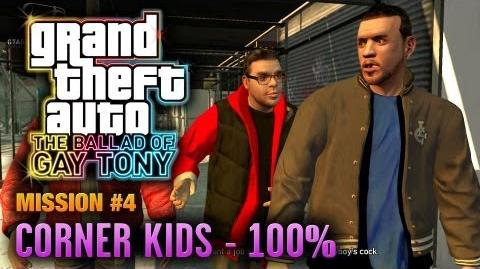 GTA The Ballad of Gay Tony - Mission 4 - Corner Kids 100% (1080p)