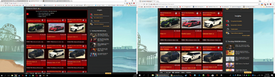 Templaterender CHROME screensize difference