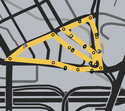 The Los Santos Triangle GTAO Verified Map