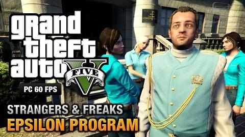 GTA 5 PC - Epsilon Program 100% Gold Medal Walkthrough