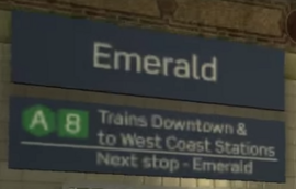 Emerald LTA Error Sign