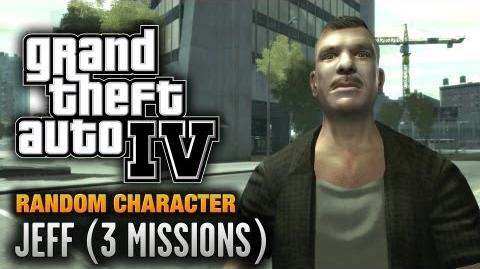 GTA 4 - Random Character 8 - Jeff 3 Missions (1080p)