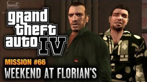 GTA 4 - Mission 66 - Weekend at Florian's (1080p)