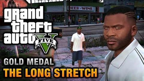GTA 5 - Mission 9 - The Long Stretch 100% Gold Medal Walkthrough