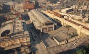 LaMesa-GTAO-VehicleWarehouseExterior
