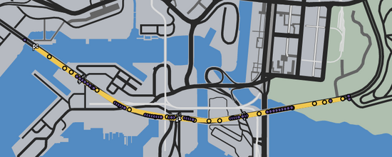 2 Mile Lap Divided GTAO Verified Map