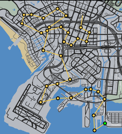 GTAO-Chopper Killer Race Map