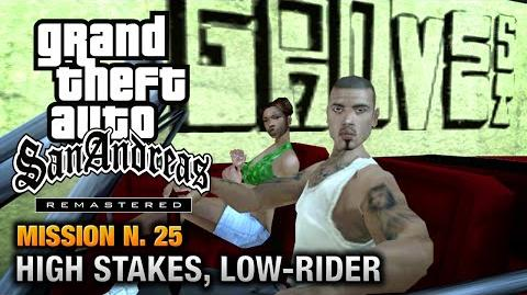 GTA San Andreas Remastered - Mission 25 - High Stakes, Low-rider (Xbox 360 PS3)
