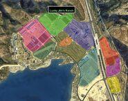 Grapeseed Land Survey GTAV Map Lucky Jim's Ranch
