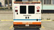 Ambulance-GTAV-Rearview