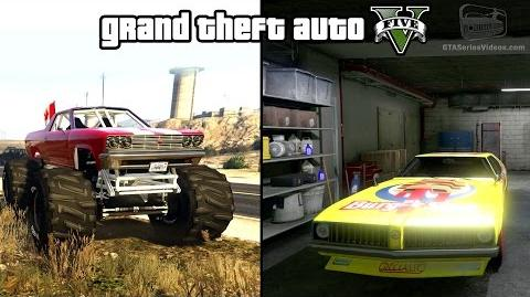 GTA 5 - Cheval Marshall & Stock Car Races Gameplay (How to unlock) PS4 & Xbox One