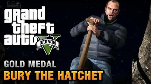 GTA 5 - Mission 57 - Bury the Hatchet 100% Gold Medal Walkthrough